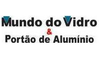Logo Mundo do Vidro & Portão de Alumínio em Pirapora