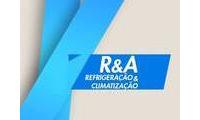 Logo de r&a climatizaçaõ e refrigeraçaõ em Ramadinha