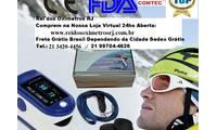 Logo Oxímetro Dedo Pulso Monitora Batimentos Cardíacos E Saturação Oxígênio Adulto E Infantil em Tijuca