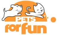 Logo de Pets For Fun em Calhau