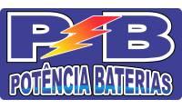 logo da empresa Potência Baterias - Baterias Automotivas e Estacionárias