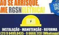 Logo de RGSN Elétrica em Camorim
