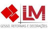Logo de Lm Gesso Decorações E Reformas em Santa Etelvina