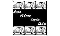 Logo de Auto Vidros Verde em Xaxim