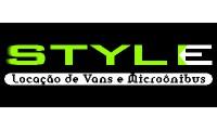 Logo Style Aluguel de Ônibus em Industrial