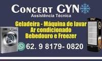 Logo de CONCERT GYN ASSISTÊNCIA TÉCNICA EM GELADEIRAS FREEZERS E MAQUINAS DE LAVAR em Setor Centro Oeste