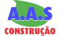 Logo de A.A.S Construção em Dom Pedro I