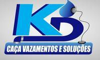 Logo KD CAÇA VAZAMENTOS E SOLUCÕES HIDRÁULICAS em Setor Habitacional Vicente Pires