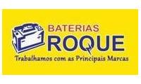 Logo de Baterias Roque em Guarani
