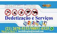 Logo InsectKill Cupim Dedetização e Serviços