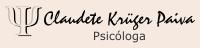 Psicóloga Claudete Krüger Paiva