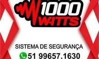 Logo de 1000 Watts Sistemas de Segurança