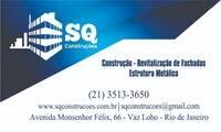 Logo SQ CONSTRUÇÕES