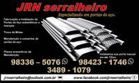 Logo de Jrn Serralheiro em Lins de Vasconcelos