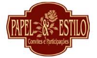 Logo de Papel & Estilo em Mooca
