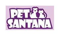 Logo de Pet Santana em Santana