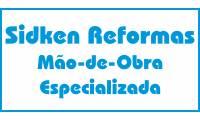 Logo Sidken Reformas Mão de Obra Especializada em Tupi A