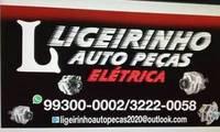 Logo de ligeirinho auto peças eletrica em Coronel Antonino
