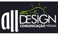 Logo de Alldesign Soluções Visuais Ltda em Lindéia (Barreiro)