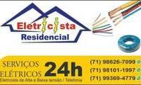 Logo de eletricista em salvador em Itapuã