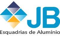 logo da empresa JB Esquadrias Alumínio e Vidraçaria em Copacabana