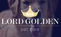 Logo de Lord Golden pet care em Petrópolis