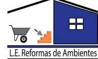 Logo de L.E. Reformas de Ambientes em Centro