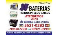 Logo de JF Baterias em Célvia