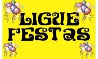 Logo de Ligue Festas Buffet em Coqueiro