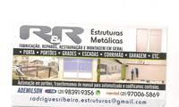 Logo de Rodrigues & Ribeiro Reparos E Fabricações Portões, em Engenho Novo