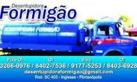Logo de Desentupidora Formigão - Desentupidora em Ingleses em Ingleses do Rio Vermelho