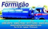 Logo de Desentupidora Formigão em Ingleses do Rio Vermelho