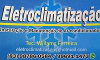 Logo de Eletroclimatização Instalação E Manutenção de Ar Condicionado em Ipês