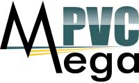 Logo de Esquadrias em Pvc - Mega Pvc - Rj - Tijuca em Tijuca
