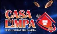 Logo de Casa Limpa - Dedetizadora e Desentupidora 24 Horas