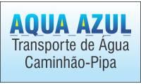 Logo de Aqua Azul Caminhões Pipa em Conjunto Residencial Estrela do Sul
