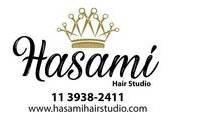 Logo de Hasami Hair Studio em Jardim Santo Elias