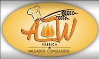 Logo de Aw salgados em Centro