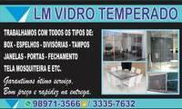 Logo de LM vidro temperado