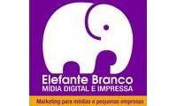 Logo de Elefante Branco Mídia Digital E Impressa em Congós