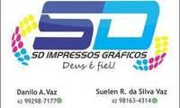 Logo SD Impressos Gráficos em Setor Novo Planalto