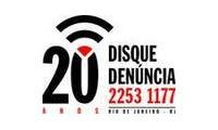 Logo de Disque Denúncia - RJ
