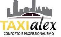 Logo de TAXI ALEX em Sumaré