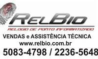 Logo de Relbio Relógio de Ponto E Controle de Acesso em Balneário Mar Paulista