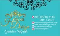 Logo de Herica'S Design Gráfica Rápida E Convites em Geral