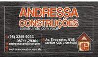 Logo de Andressa Construções em Jardim São Cristóvão II