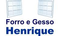 Logo de Forro Gesso Henrique em Novo Aleixo