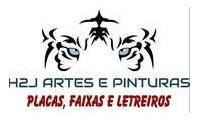Logo de H2J Artes e Pinturas em Jardim Santa Bárbara