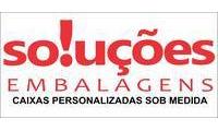 Logo de SOLUÇÕES EMBALAGENS em Jequitibá
