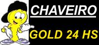 Chaveiro Gold 24 Horas